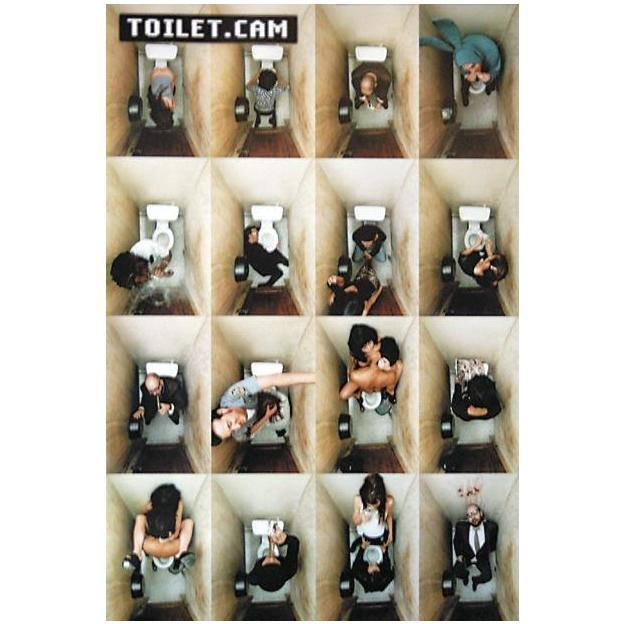 Toilet.Cam Poster