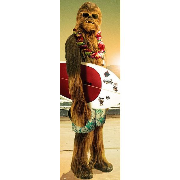 Star Wars Poster Chewbacca Surfin 158cm