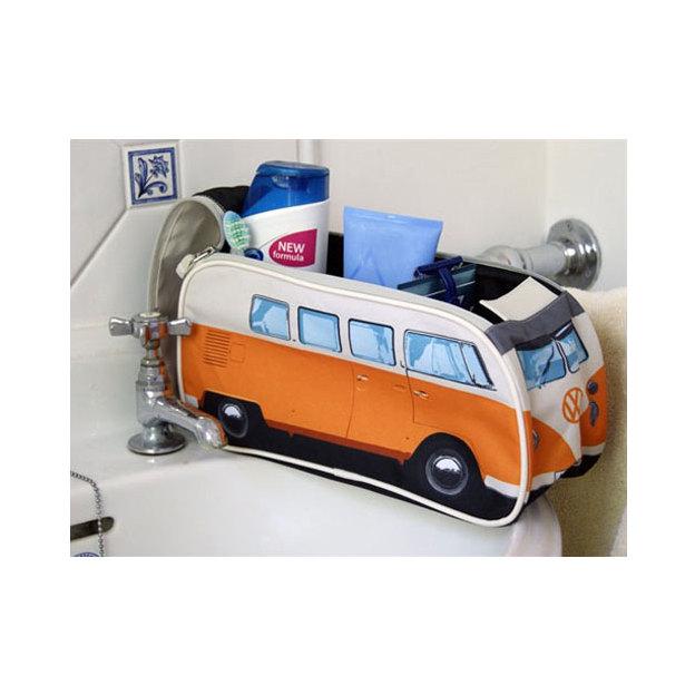 VW Bulli Necessaire orange