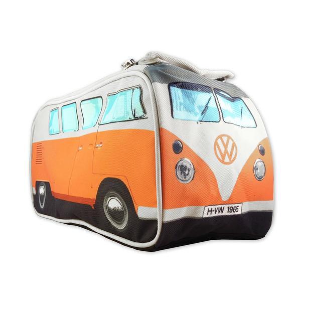 VW Bulli Kulturbeutel Washbag orange