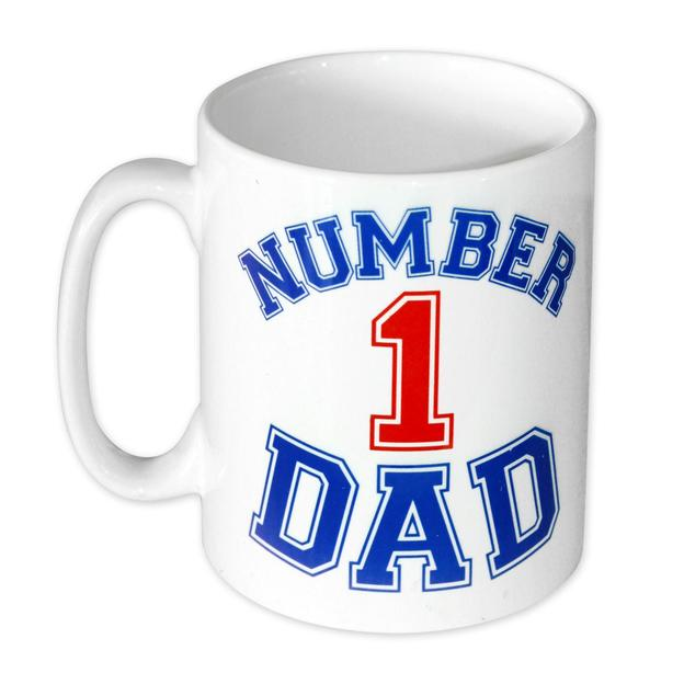 Number 1 Dad Tasse