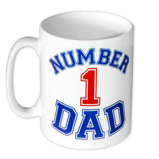Tasse Number 1 Dad