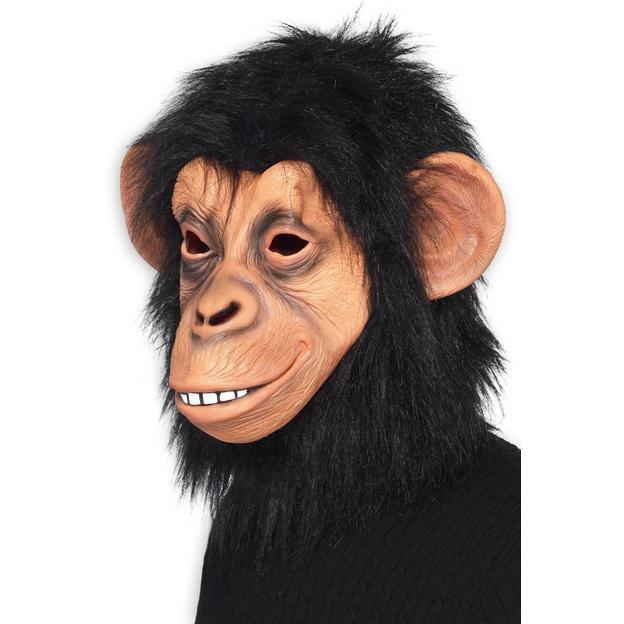 Schimpansen Maske für Erwachsene