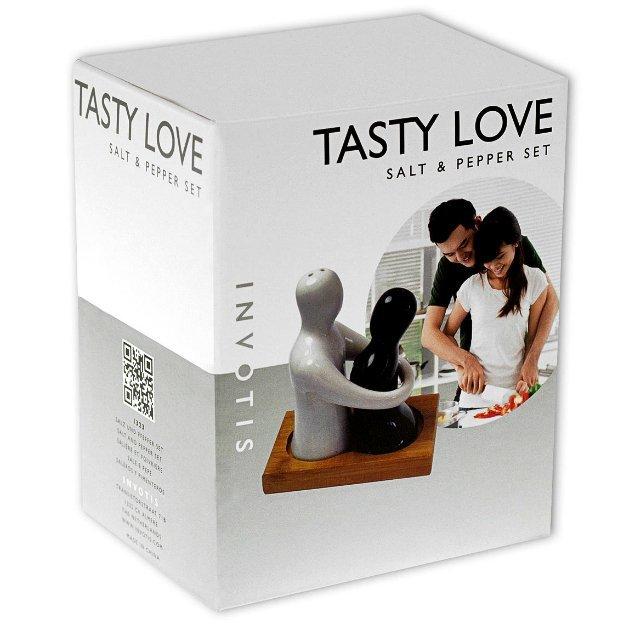 Tasty Love Salz- und Pfefferstreuer Set