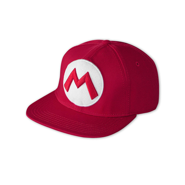 Nintendo Snap Back Cap Super Mario Logo