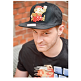 Nintendo Snap Back Cap Super Mario 8 Bit