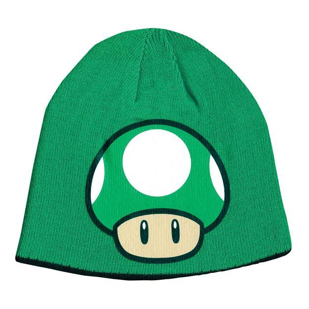 Nintendo Beanie Cap Pilz 1 Up