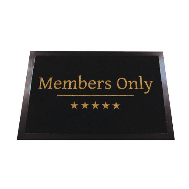 Members Only Fußmatte