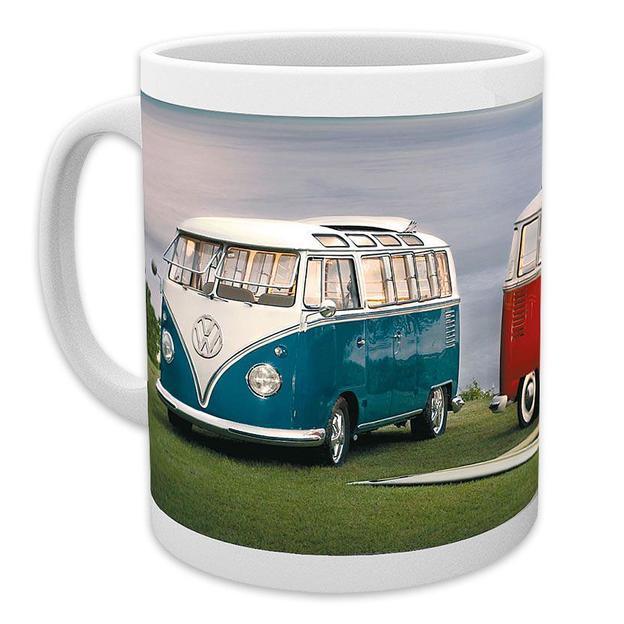 VW Camper Tasse Zwei Bullis