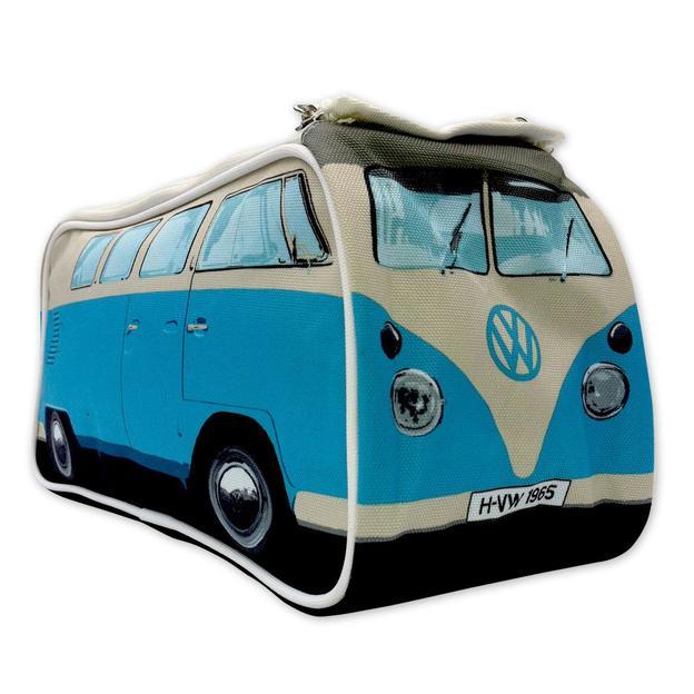 VW Bulli Necessaire blau