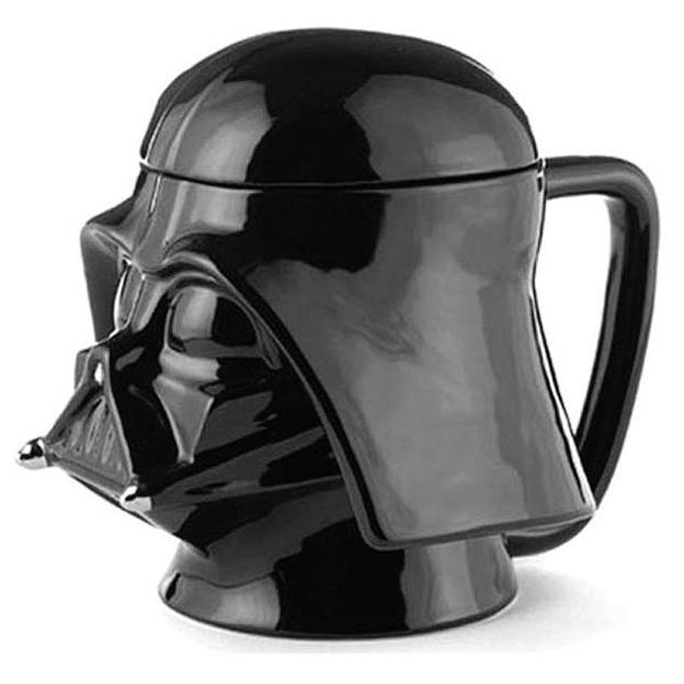 Star Wars 3D-Tasse mit Deckel Darth Vader Sammleredition