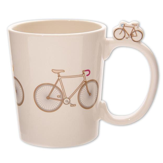 Retro Fahrrad Tasse Ted Smith Design