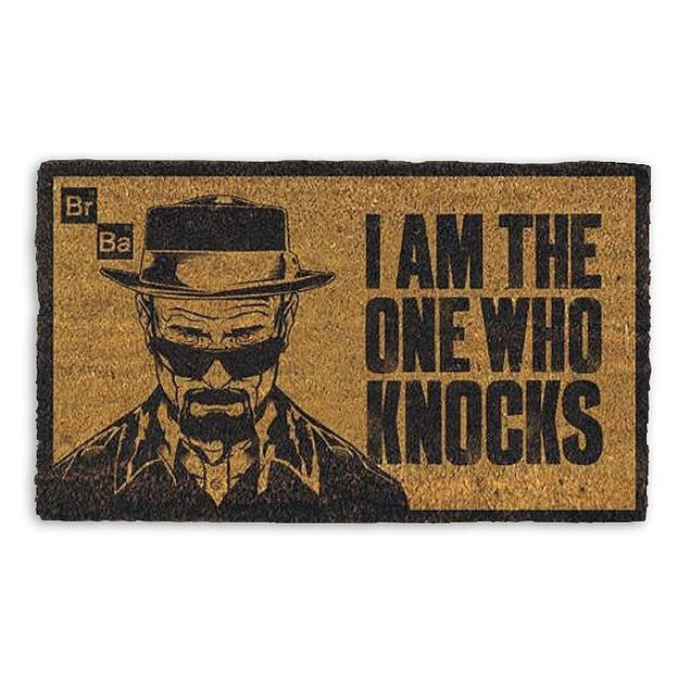 Breaking Bad Fußmatte I am the one who knocks