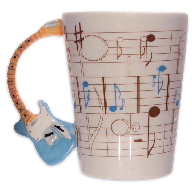 "Tasse E- Gitarre ""Rock it!"" Design by Ted Smith"