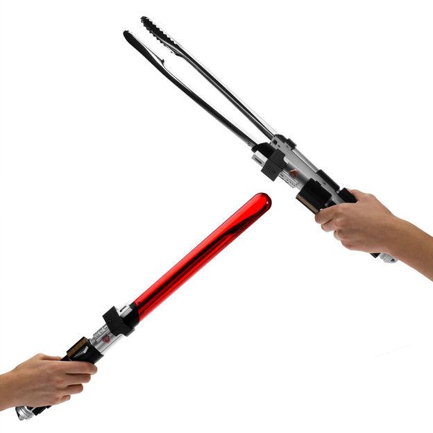 Star Wars Grillzange mit Sound Laserschwert