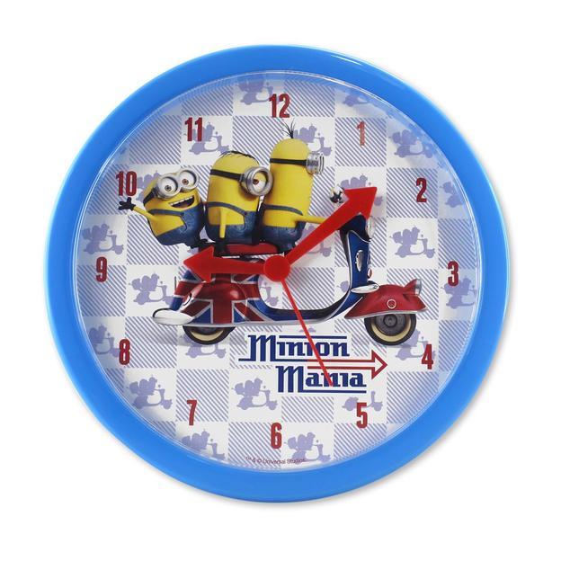 Horloge murale ''Minions Mania'' Moi, moche et méchant