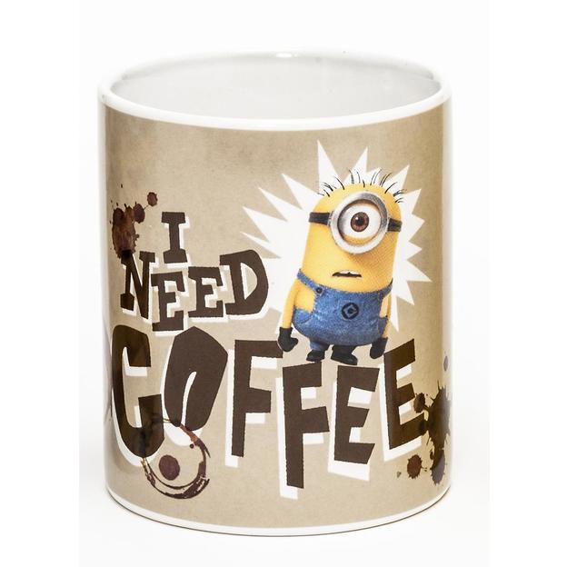 """Tasse Minions """"I need coffee"""""""