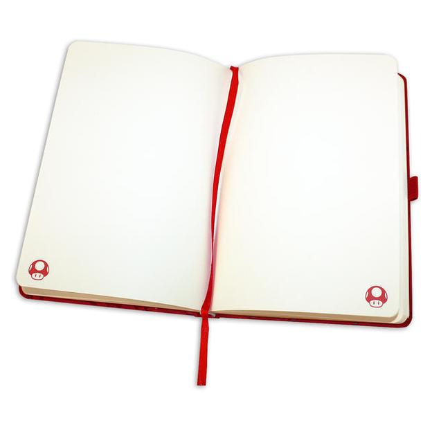 Nintendo Super Mario Premium Notizbuch DIN A 5 Rot