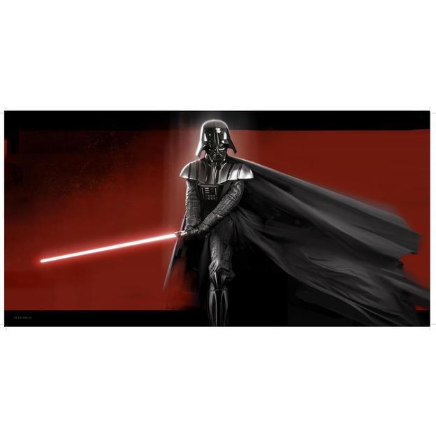 Star Wars Glas-Poster Darth Vader