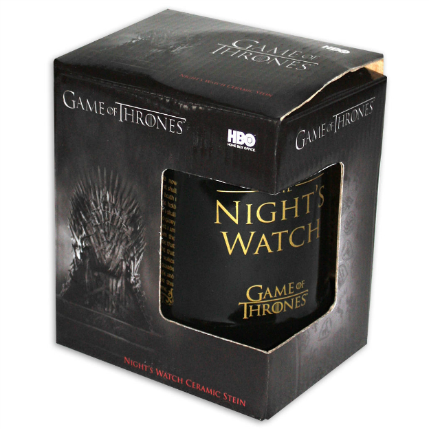 Chope de bière Game of Thrones The Night's Watch