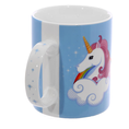 "Einhorn Tasse ""I DON'T BELIEVE IN HUMANS"""