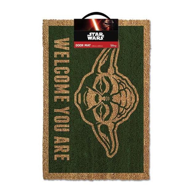 Star Wars Fussmatte Yoda Welcome You Are