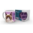 Grumpy Cat Tasse Fun I Had Fun Once It Was Awful