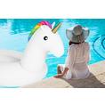 Einhorn Luftmatratze Schwimminsel