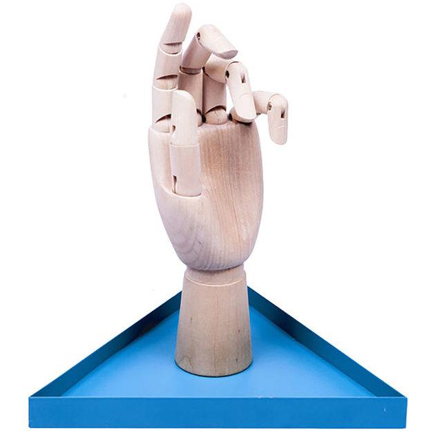 Schmuckhalter Die Hand türkis