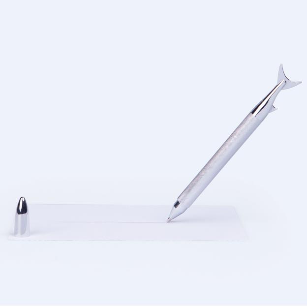 Kugelschreiber Ink Fish Silber