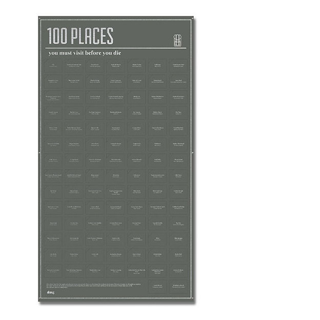 100 Places you must visit