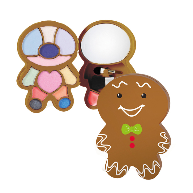 Makeup Palette Gingerbread Man