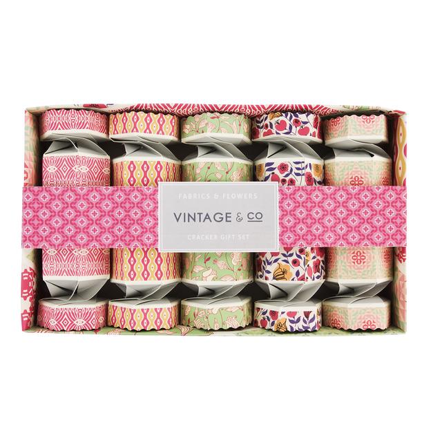 Set Vintage Crackers boules de bain et crèmes