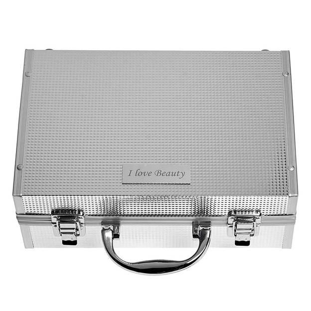 Personalisierbarer Schminkkoffer mit herausnehmbarer Lidschatten-Palette