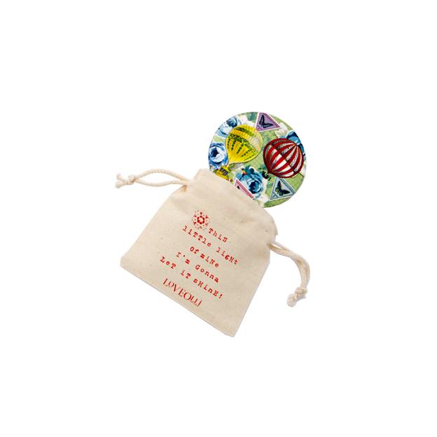 Handtaschenspiegel LoveOlli Luftballon