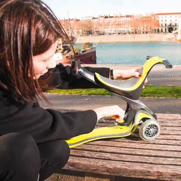 Globber Scooter 5-in-1 - Trottinette évolutive Le Matin