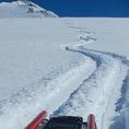 Schneeschuhtour mit Freeride Alpinschlitten