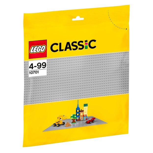 LEGO Classic La plaque de base grise