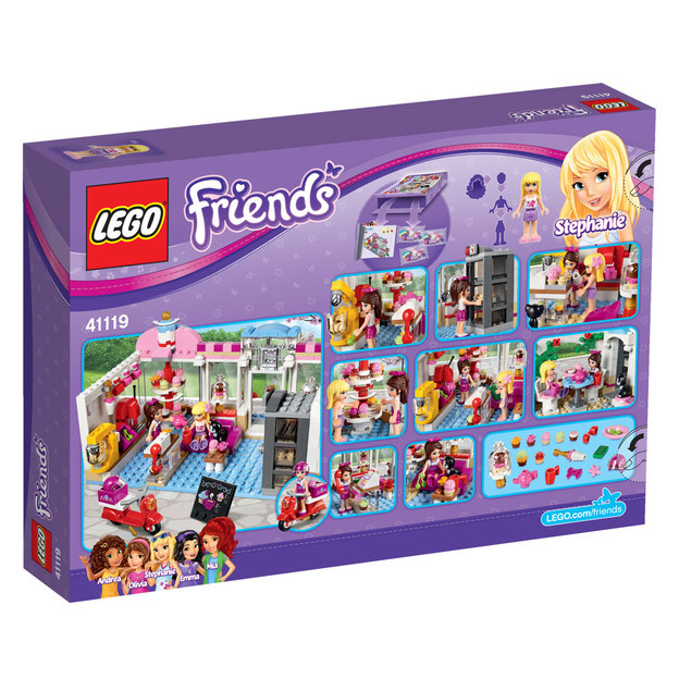 LEGO Friends Heartlake Cupcake-Café