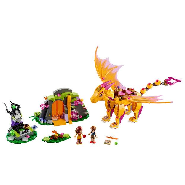 LEGO Elves Lavahöhle des Feuerdrachens