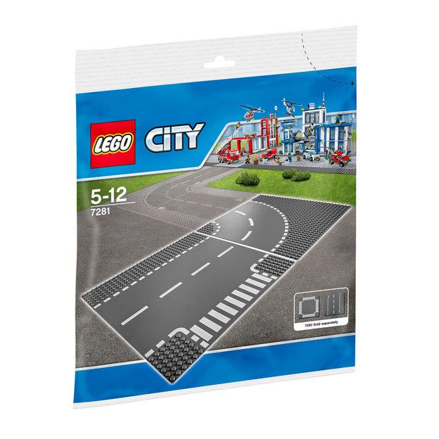 LEGO City Kurve/ T-Kreuzung