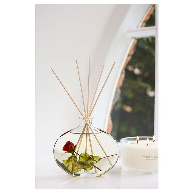 Diffuser Raumduft im formschönen Glas