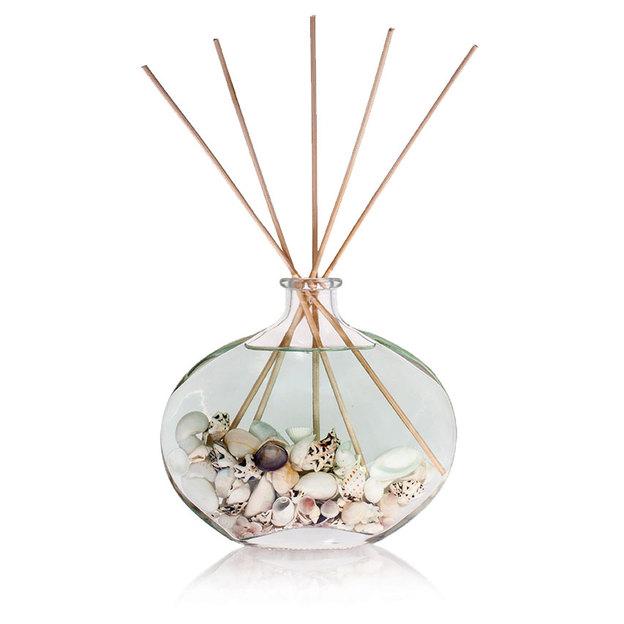 Diffuser Flowers im Glas Ocean