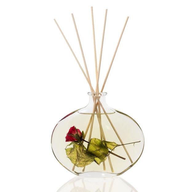 Diffuser Raumduft im formschönen Glas Red Rose