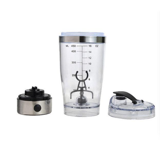 Protein Shaker mit integriertem Mixer