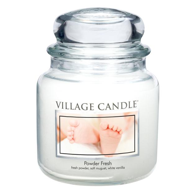 Village Candle Duftkerze Powder Fresh