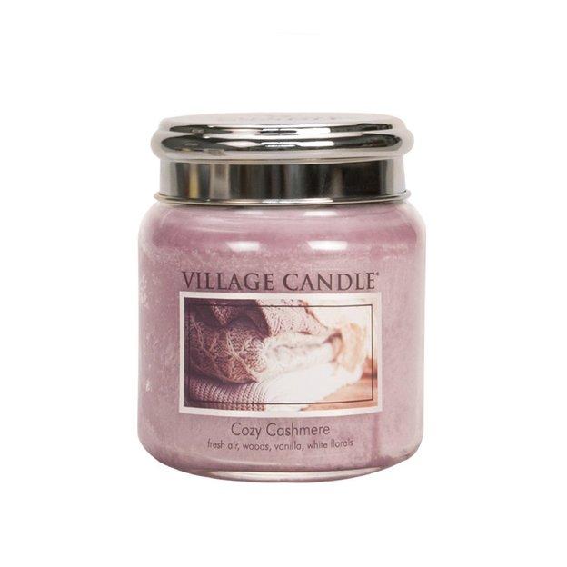 Village Candle Duftkerze Cozy Cashmere 450g