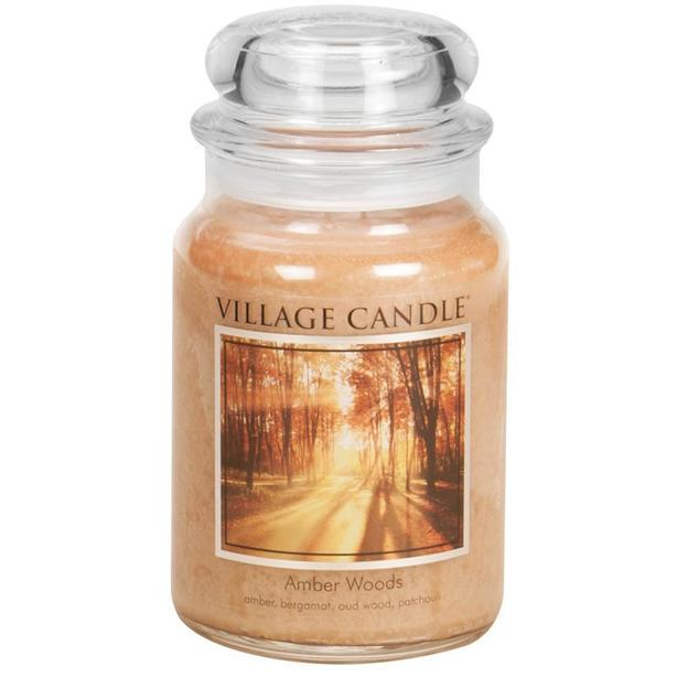 Village Candle Duftkerze Amber Woods