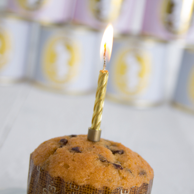 Kuchen Cancake in der Dose