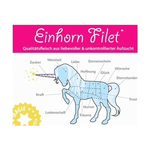 Einhorn-Filet Marshmallow